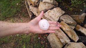 Hail size