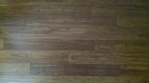 Close up of Bamboo Flooring